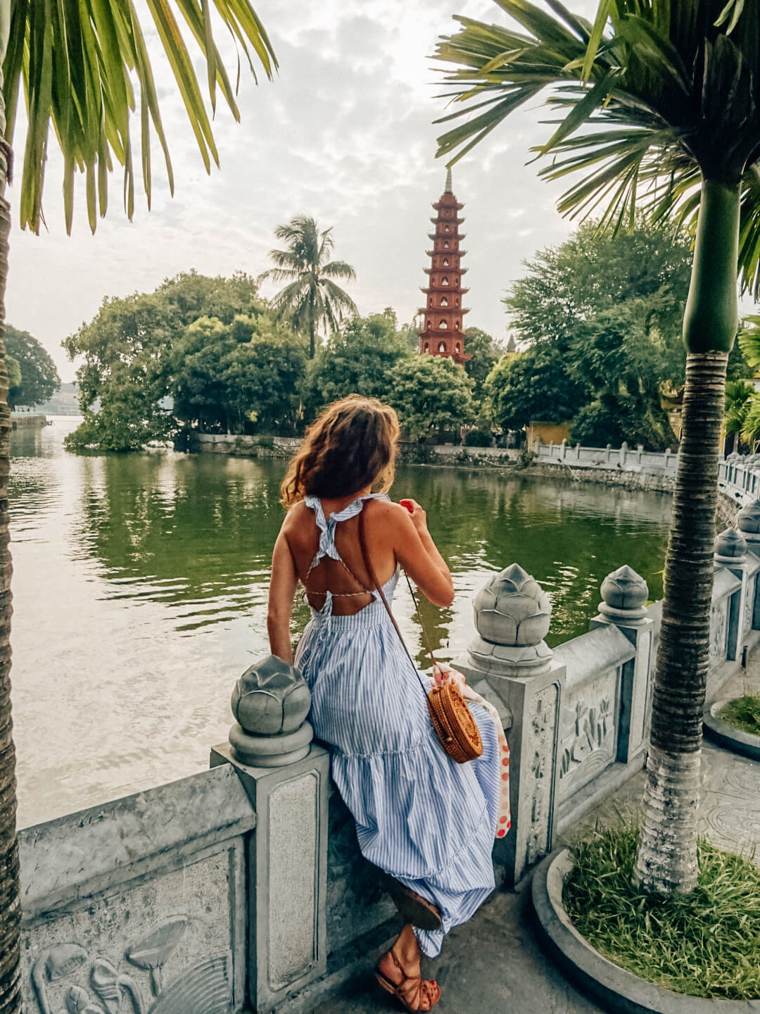 Inside the river – Hanoi