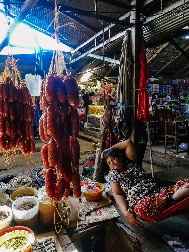 Lazy market day