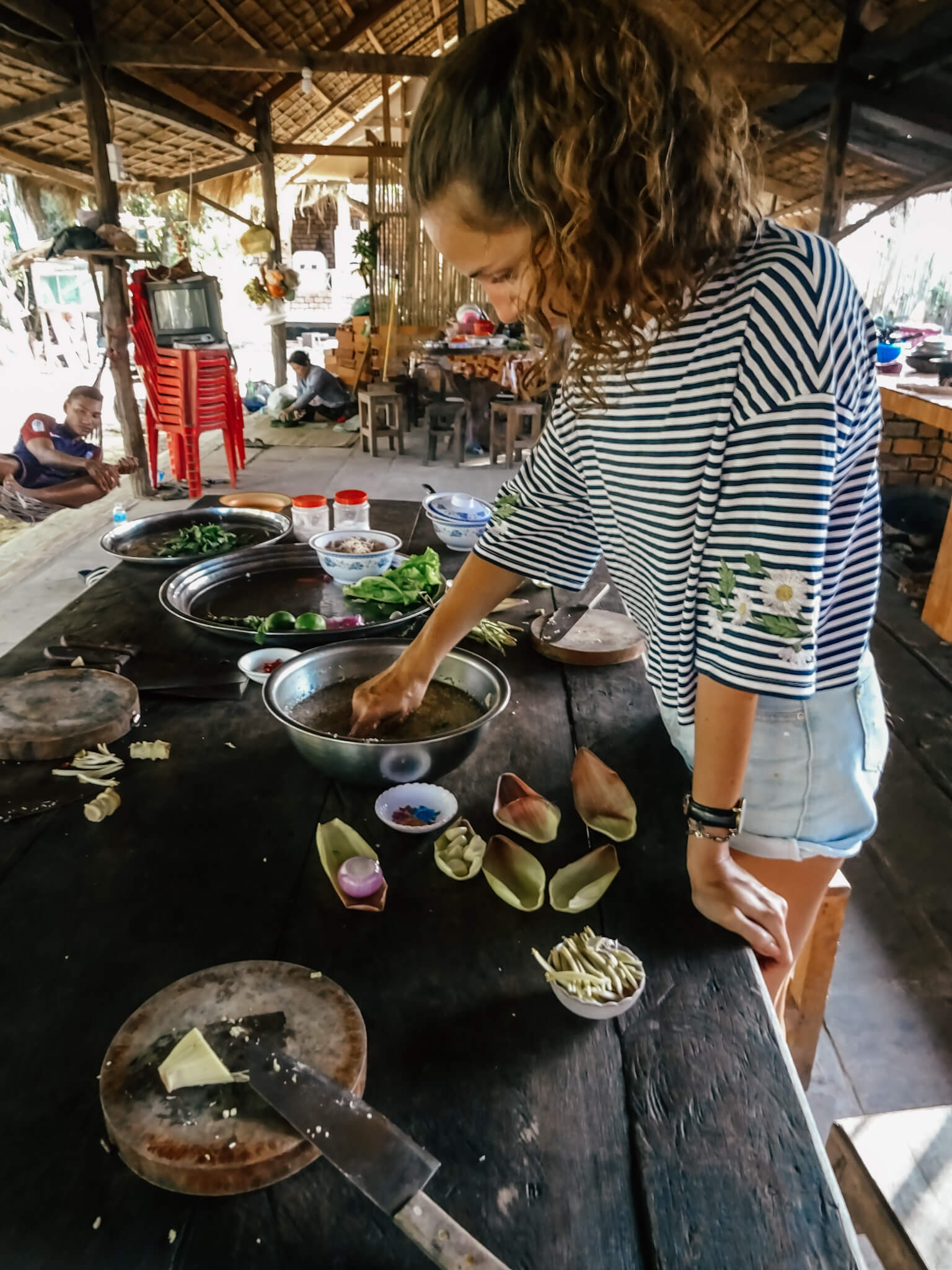 Interview: Cooking class in orphanage – Siem Reap